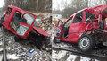 Hrůza na přejezdu: Řidička prchala z nepojízdného auta: Pak ho smetl rozjetý vlak!