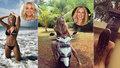 Exkamarádky Rolins a Krainová: Trumfují se sexy fotkami ze stejného ostrova!