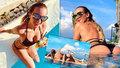 To je pokoukáníčko! Mottlová na Bali sexy pózami odrovnala Rolins i Krainovou