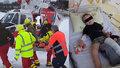 Dramatická záchrana Matyáška (4) po pádu z lyží: Tatínek poděkoval záchranářům a vše natočil