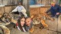 Těhotná Rytmusova Jasmina vlezla do výběhu k tygrovi! Pak už jen litovala...