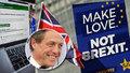 """""""Stav nouze,"""" bije na poplach Hugh Grant. Petici proti brexitu podepsaly tři miliony lidí"""