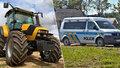 V Krkonoších zavalil traktor muže: Je vážně zraněný