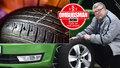 Koupil rok starou škodovku, ale pneumatiky se loupou jako perníček! Co na to prodejce?