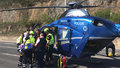 V Podbabě havaroval osmdesátiletý muž na tříkolce. Přiletěl pro něj vrtulník