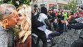 Babiš stihl políbit Moniku. A v Brně došlo na 1. máje k zatýkání i zranění policistů