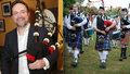 První skotský dudák střední Evropy Václav Rout (53): Hrál pro prezidenta i prince