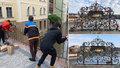 Ověšené památky v centru metropole zbavili zátěže: Odřezali tunu zámečků lásky