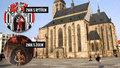 Historická kuriozita: Do znaku Plzně v katolické katedrále dal malíř z pomsty Žida