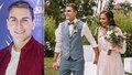 První FOTO z tajné svatby Davida Gránského! Nevěstu málem ani nepoznal
