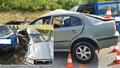 Tragické nehody na jihu Čech: Řidič a mladá žena zemřeli po děsivém nárazu