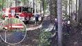 Na Rakovnicku hořel les: Plameny se podařilo uhasit po dvou hodinách!