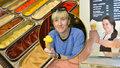 Pivní, kopřivová i batátová: Místo zchátralého bytu v Braníku vyrostla originální zmrzlinárna