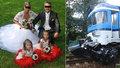 Rodina s dvěma dětmi zahynula na přejezdu: Policie řekla, kdo za nehodu může!