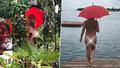 Když v Jablonci zaprší, primátorova nahá žena občany potěší!