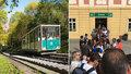 Fronty na petřínskou lanovku: Skanzen doby minulé nestíhá nárazové vlny turistů
