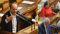 """Láska o debaklu ve Sněmovně i """"opoziční špíně"""". Kalousek: Schillerová je hysterka"""