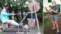 Své děti prý mučil 9 let v podzemí: Sám mezitím cvičil na sluníčku a zahradničil