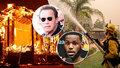 Sídla boháčů evakuovali kvůli ohnivému peklu: Arnie i hvězda NBA utíkali před před plameny