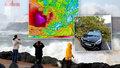 Kolaps na silnicích a stovky tisíc lidí bez proudu: Bouře Amélie zasáhla Francii