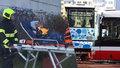 Srážka dvou autobusů na Chodově: Jeden byl plný malých dětí! Řidiče (60) rok po nehodě obvinili