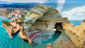 Sidari na řeckém Korfu: Kanál lásky slibuje štěstí na celý život