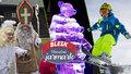 Tipy na víkend: Lyžařská sezona se rozjíždí! Poznejte vánoční zvyky a obdivujte sochy z ledu