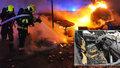 VIDEO: Několik aut lehlo popelem! Požár zaměstnal hasiče ve Vršovicích