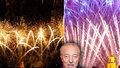 VIDEO: Ohňostroj pro božského Gotta: Nad Prahou se zalilo nebe do zlata! Vyšehrad zaplnily davy lidí