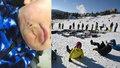 Chlapečka (2) zranila uvolněná lyžařská branka! Rodiče shání svědky