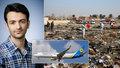 """""""Vracel se za šťastným životem."""" V troskách Boeingu zemřel i student Mehdi (†24)"""
