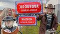 """Tady je """"Magora"""" Jirouse! V Řeporyjích po ikoně undergroundu pojmenovali ulici v nové zástavbě"""