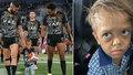 Quaden si  přál zemřít kvůli šikaně: Na stadionu ho přivítaly davy fanoušků