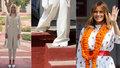 Souboj Trumpových žen: Které to v Indii více slušelo? Melania ukázala i ponožky