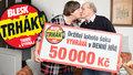 Ladislava (70) vyhrála v Trháku 50 000 Kč! 50 let s manželem a 50 tisíc k tomu!