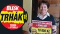 Jana (70) z Úpice už ví, co udělá s 10 tisíci: Zvelebíme si život!
