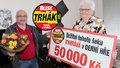 Jaroslava (76) z Olomouce má z Trháku 50 tisíc: Štěstí mě svědilo na dlani!