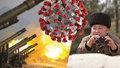 Kim bez roušky dohlížel na vojenské cvičení. Tají diktátor oběti koronaviru?