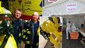 Čtyři sanitky v Praze zajišťují domácí odběry. Další je vyčleněná pro nakažené koronavirem