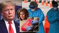 "Trump chce na Velikonoce ""narvané kostely"", Melania šla na testy na koronavirus"
