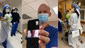 Svatba v nemocnici: Zdravotníci uspořádali veselku pro kolegy, kterým ji zhatil koronavirus