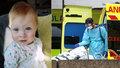 Malá bojovnice (1) s nemocným srdíčkem a plícemi porazila koronavirus. Rodiče děkují lékařům