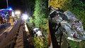 U Salcburku zemřeli po nehodě dva Češi: Vůz se zřítil ze srázu a narazil do sloupu