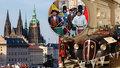 Tipy na víkend: Na Pražský hrad zdarma a Českým Krumlovem projde historický průvod