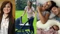 První výlet s malou princezničkou! Alena Šeredová (42) vzala kočárek do přírody