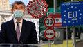 Koronavirus ONLINE: Babiš a Petříček narychlo znovu svolali tiskovku. Co se mění na hranicích?