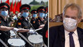 """Zeman dal Putinovi """"košem"""". Přehlídku v Moskvě vynechá kvůli koronaviru"""