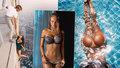 Kráska, která ráda visí 300 metrů nad zemí: Pro sexy modelku mají prý slabost slavní sportovci