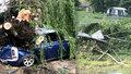 Průtrž se přehnala přes Poděbrady: Strom se zřítil na ženu!