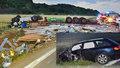 Řidič Audi vjel přímo pod kamion: Chtěl jsem zemřít! Zabil se ale řidič náklaďáku